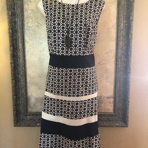 Blue Rockabilly Dress Jones Studio 14W